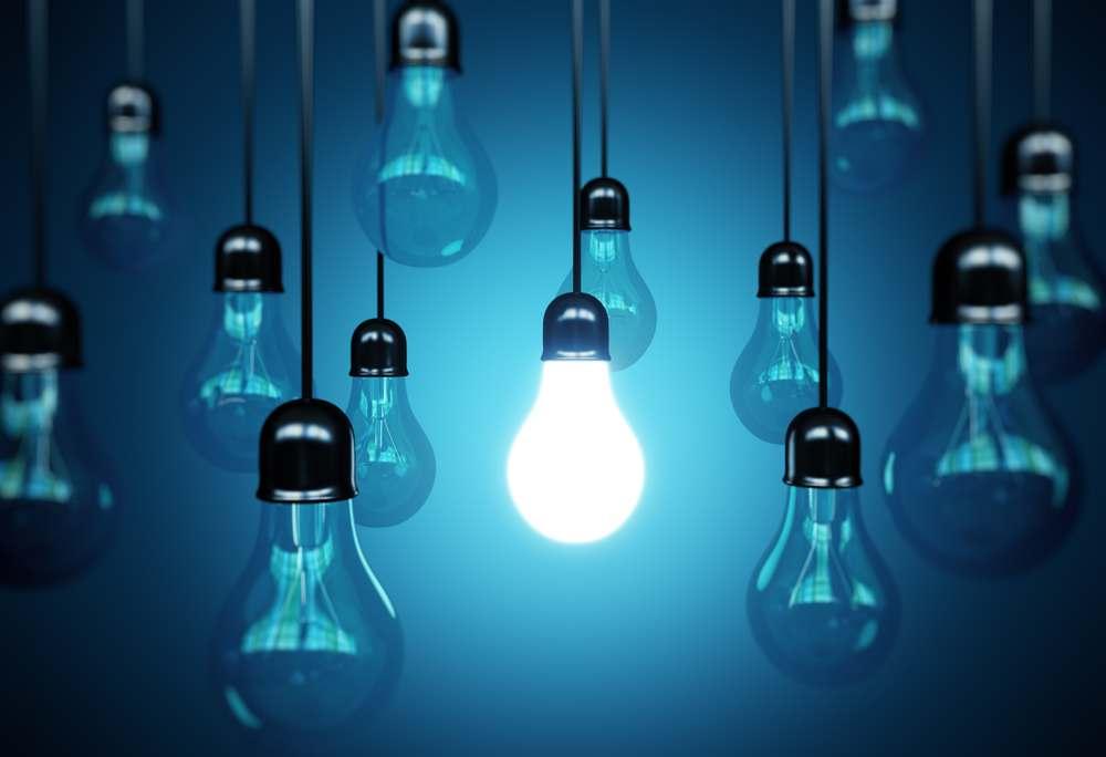 Inside color light bulbs Design