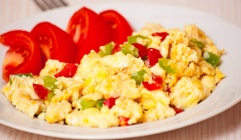 Spicy Egg Scramble