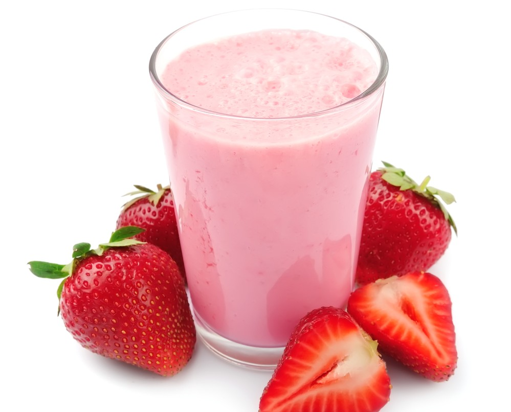 Strawberry Sunrise Smoothie