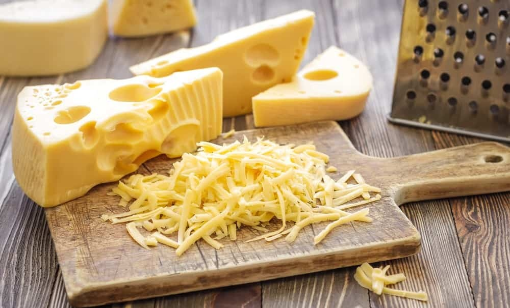 Cheese is a great source of calcium
