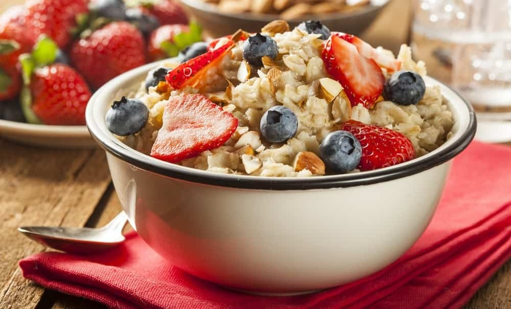 Oatmeal is very rich in complex carbohydrates