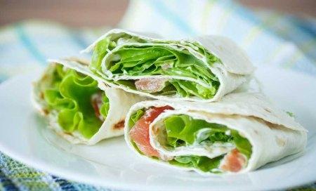 Salmon Salad Pita
