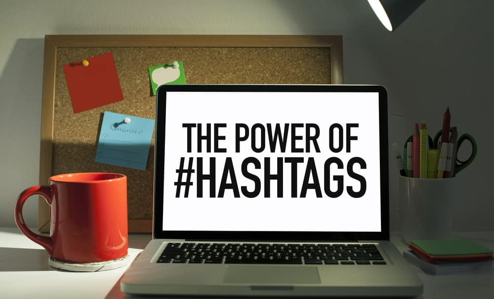 You Are Using Hashtags