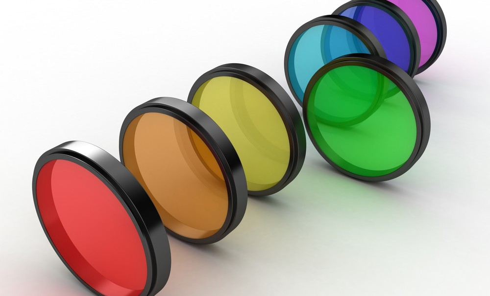 Coloured filters  for photographers