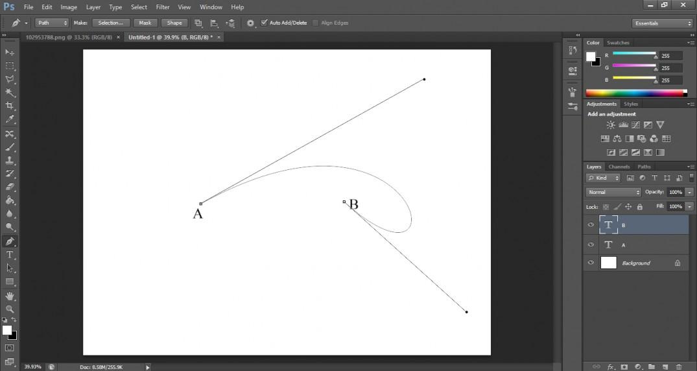 curve dots pen tool tutorial