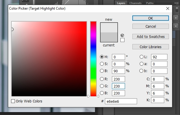 white balance tutorial equalize rgb
