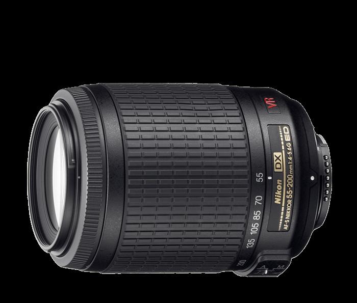 55-200mm lens